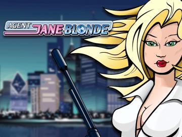 Agent Jane Blonde Pokie