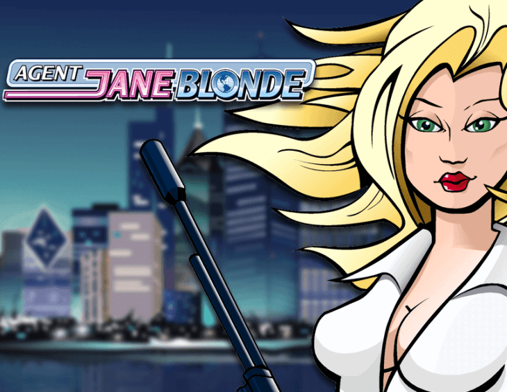 Agent Jane Blonde Pokie