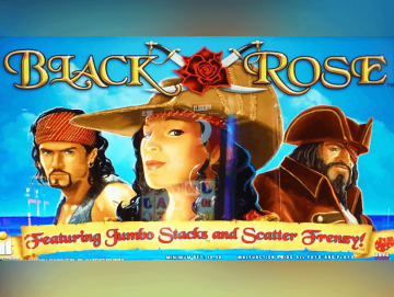 Black Rose Pokie Machine