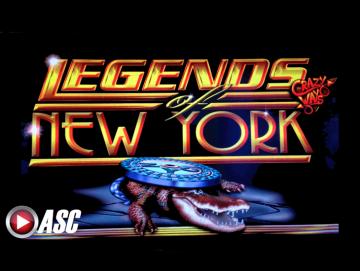 Legends of New York Pokie