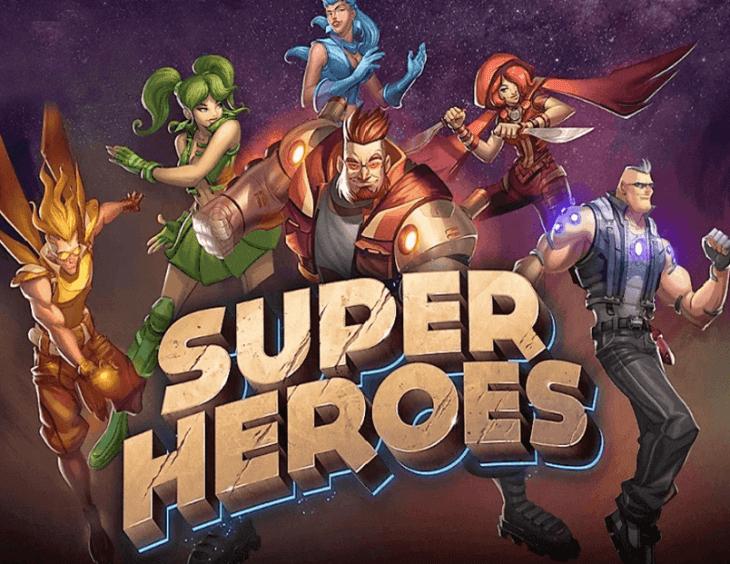 Super Heroes Pokie